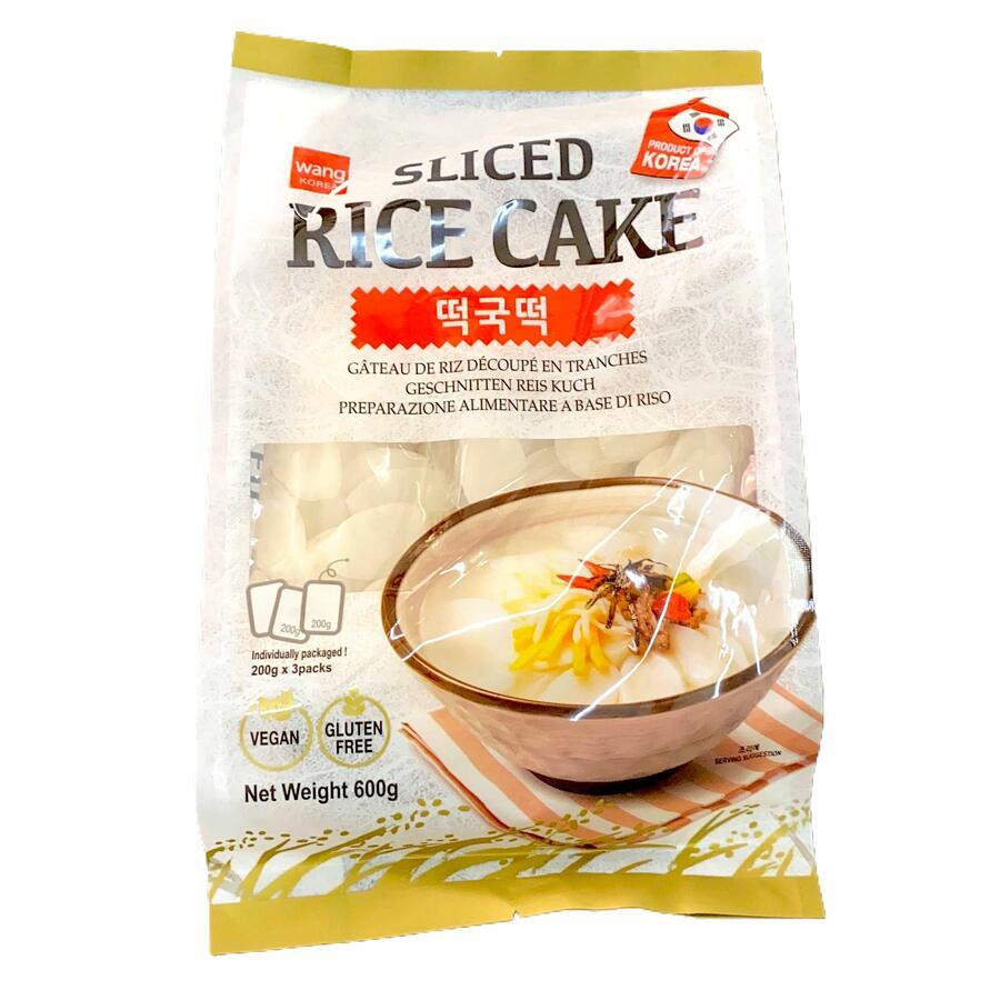 WANG KOREAN SLICED RICE CAKE 500GR