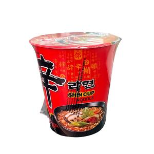 NS CUP SHIN RAMYUN NOODLE HOT&SPICE 68GR