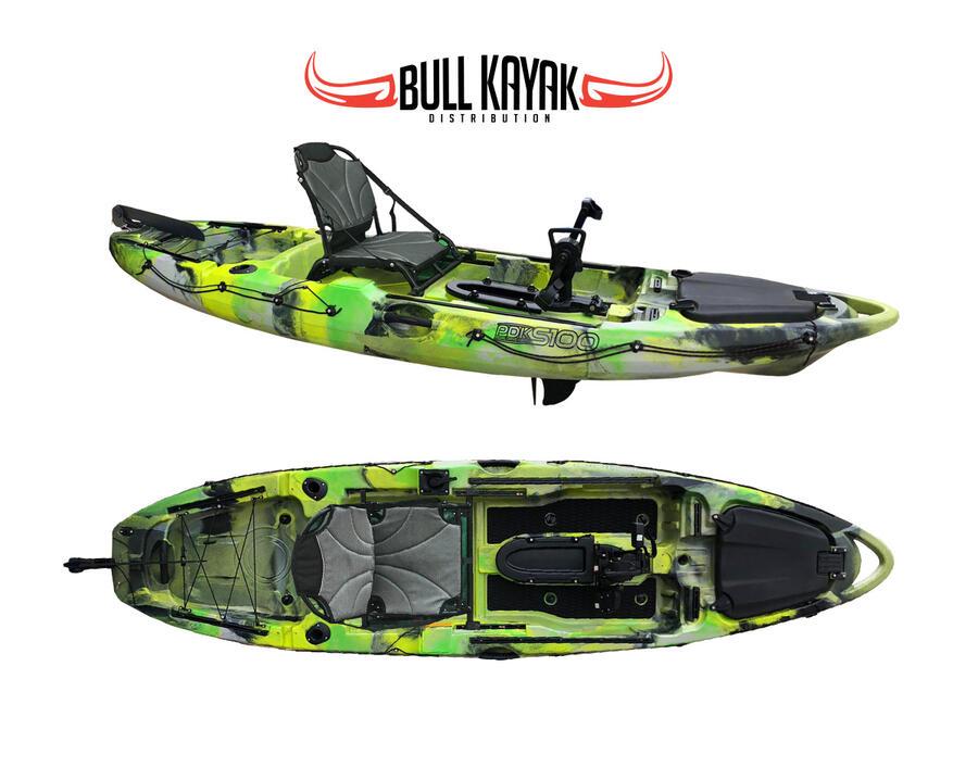 KAYAK TONALE PDK S100 BULL KAYAK a pedali con elica, kayak da 320 cm