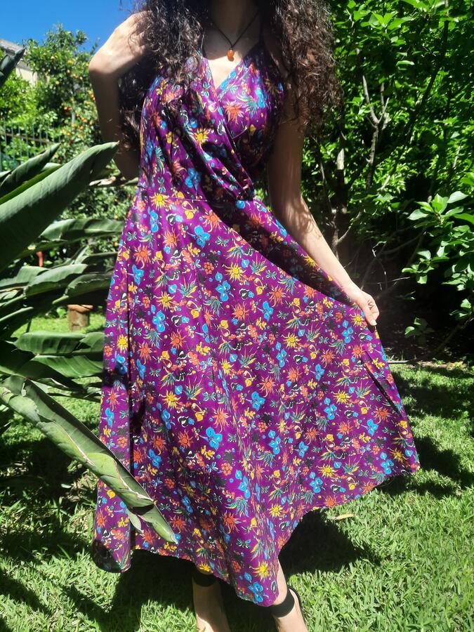 Abito Garden viola