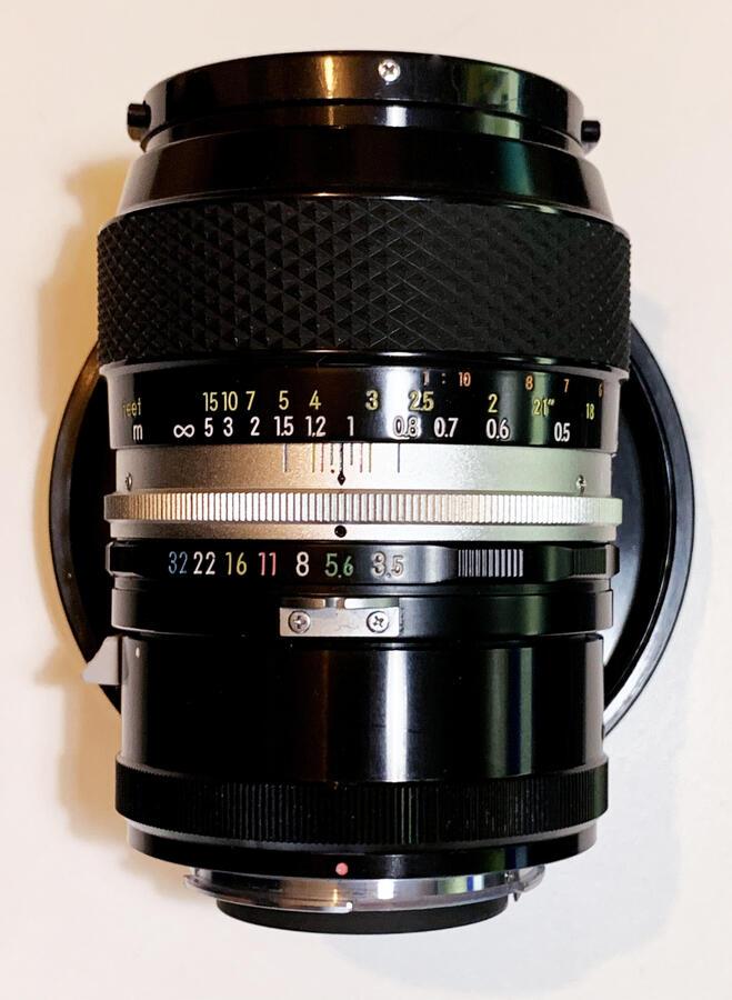 Nikon - Obiettivo Nikkor Micro 55 mm, f/3.5 AI - usato come nuovo