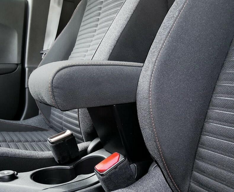 Adjustable armrest with storage for Peugeot 208 (from 03/2019>)