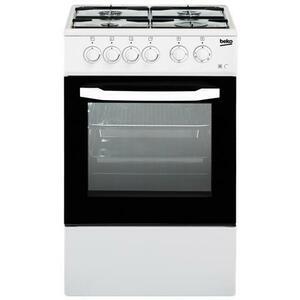 BEKO Cucina Elettrica CSS42014FW 4 Fuochi a Gas Forno Elettrico Classe B Dimensioni 50 x 50 cm Colore Bianco