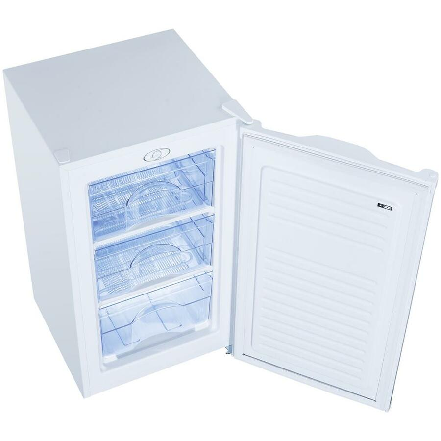 DAYA Congelatore Verticale DCV-09SM3WE0 Classe E Capacità Netta 64 Litri Colore Bianco