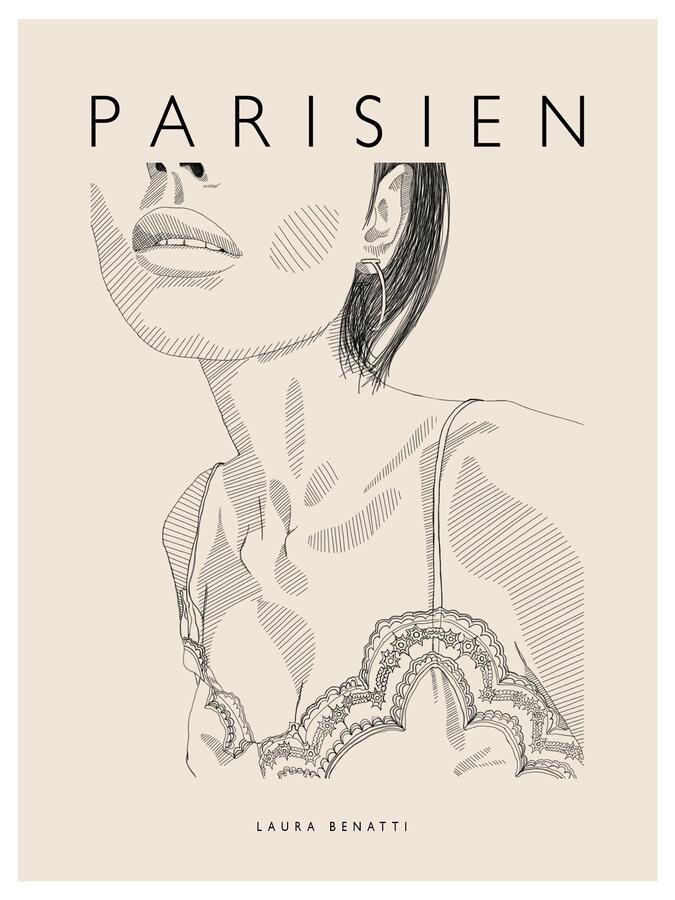 """Poster """"Parisien"""" 30x40cm"""