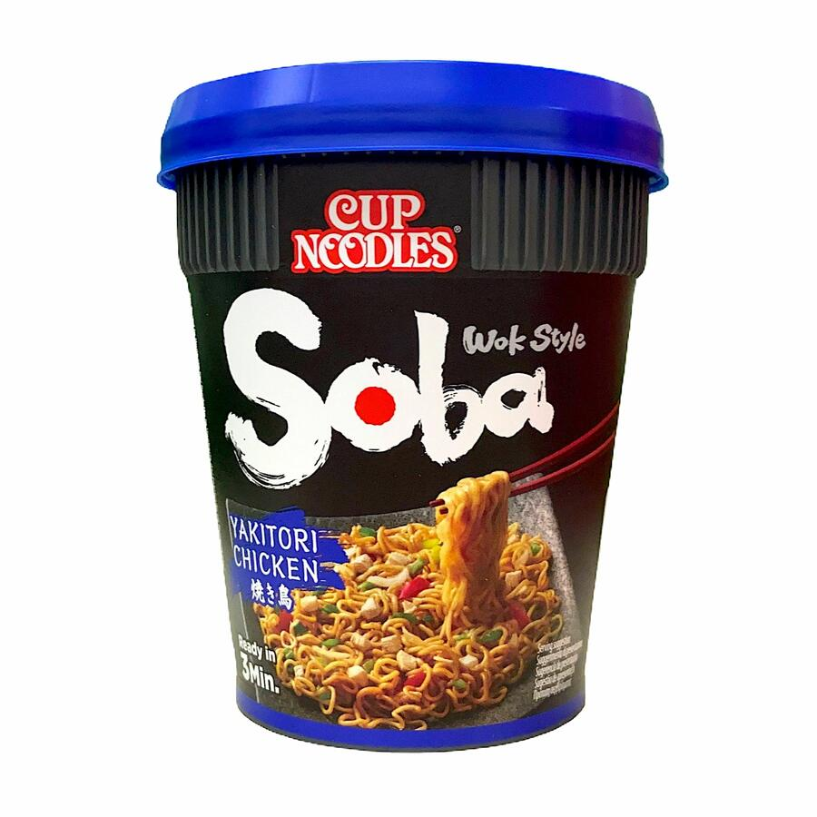 NISSIN CUP NOODLE SOBA YAKITORI CHICKEN 87GR