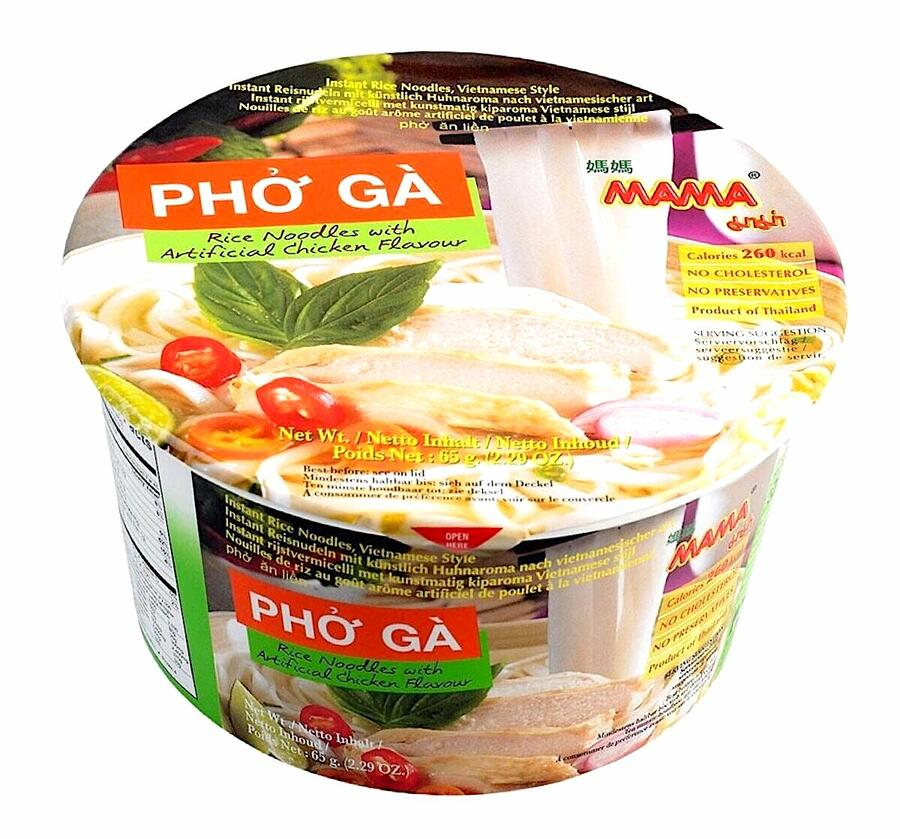 MM BOWL ISTANT RICE NOODLES CHICKEN 65GR