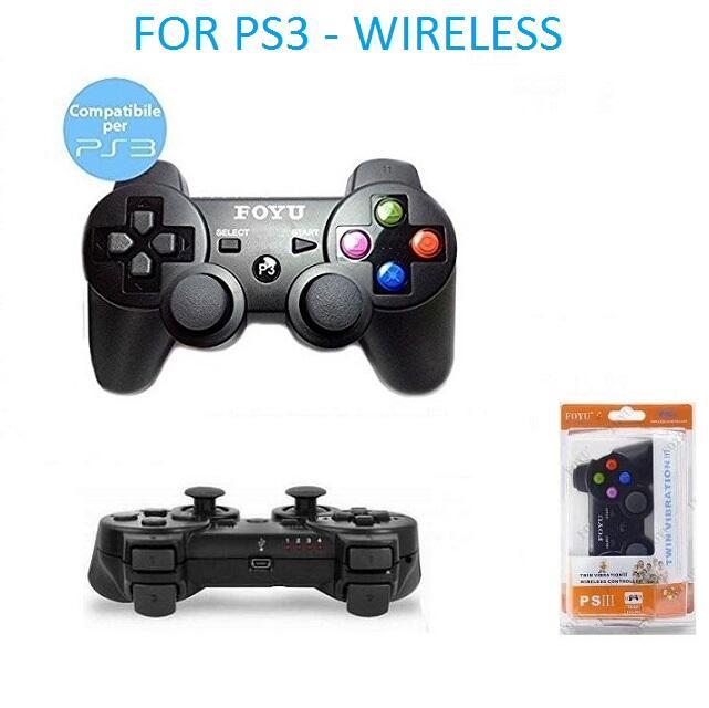 Controller Compatibile PS3 PC Wireless Senza Filo Vibrazione