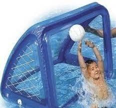 Porta gonfiabile galleggiante gioco piscina intex cm 140 x 89 x 81 cod 58507