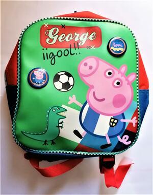 "ZAINO ASILO ""GEORGE IIGOOL!!"" PEPPA PIG E-ONE"