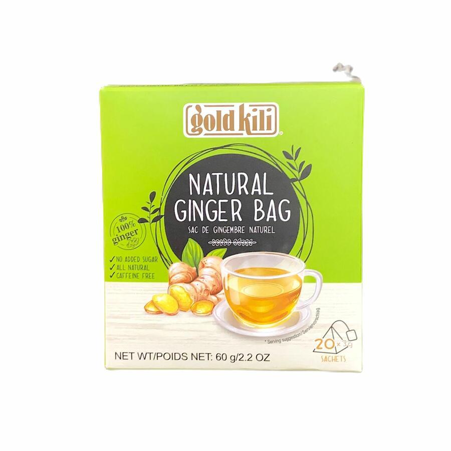 GOLD KILI NATURAL GINGER DRINK 100% 60GR (20PZ)