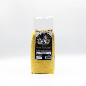 Farina di mais per polenta macinata a pietra da granoturco nostrano
