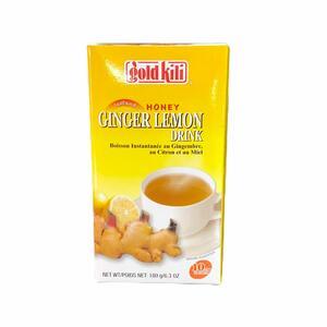 GOLD KILI GINGER LEMON INSTANT DRINK 180GR (10PZ)