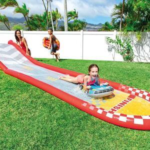 Piscina gioco gonfiabile piscina intex scivolo racing fun cm 561x119x76h codice INTEX Intex 57167 Scivolo Racing Fun