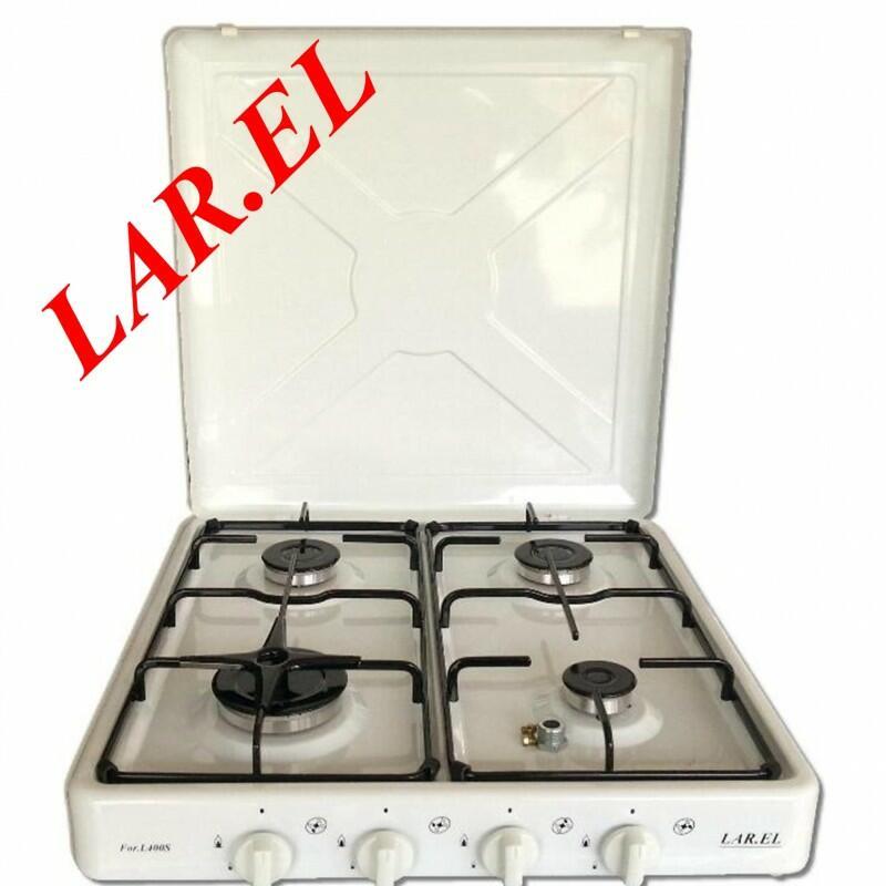 LAREL MOBILFORNELLO L400 BIANCO 50X50 GAS DA CAMPEGGIO
