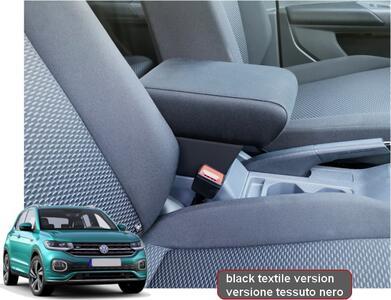 Adjustable armrest with storage for Volkswagen T-Cross
