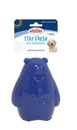 Record Stay Fresh Gioco Per Cani Refrigerante Acquatico Rinfrescante Orso Polare