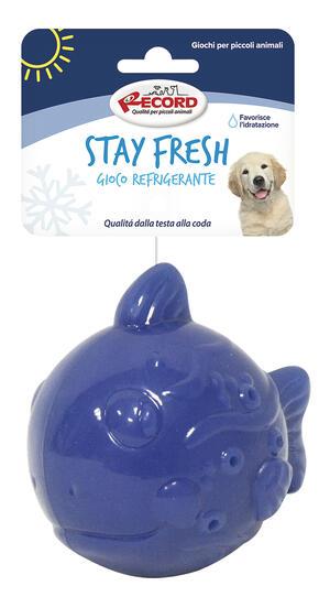 Record Stay Fresh Gioco Per Cani Refrigerante Acquatico Rinfrescante Pesce Palla