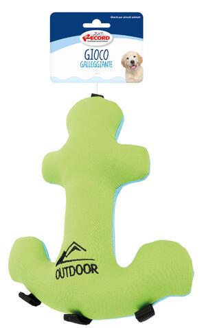 Record Ancora 24 cm Gioco Acquatico Per Cani Galleggiante Rinfrescante Soffice