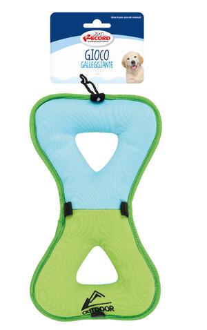 Record Osso 27 cm Gioco Acquatico Per Cani Galleggiante Rinfrescante Soffice