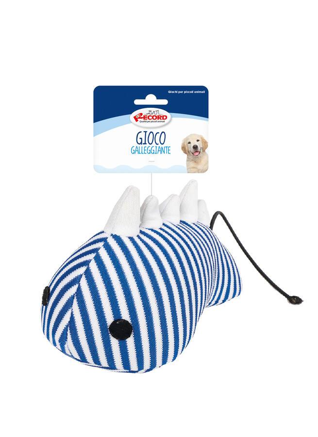 Record Pesce 15 cm Gioco Acquatico Per Cani Galleggiante Rinfrescante Soffice