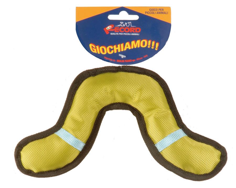 Record Boomerang 24 cm Gioco Per Cani Acquatico Galleggiante Rinfrescante