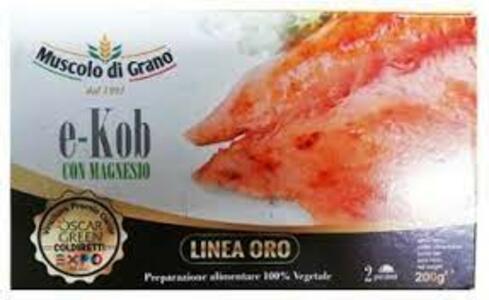 E - Kob Fetta, Muscolo di Grano, 200 gr;