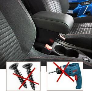 Bracciolo regolabile con portaoggetti per Peugeot 2008 (dal 2020)