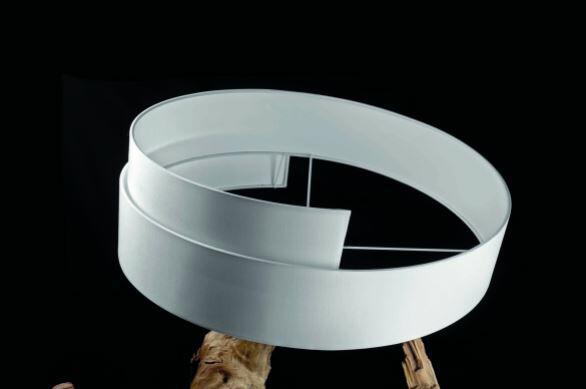 Lampada da Terra ROOT di Nature Design con Base di Albero di Teak, Varie Finiture - Offerta di Mondo Luce 24