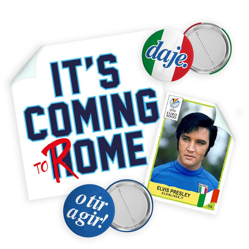 Elvis Lives Campioni d'Europa - Preordine - Consegna dal 23 Luglio