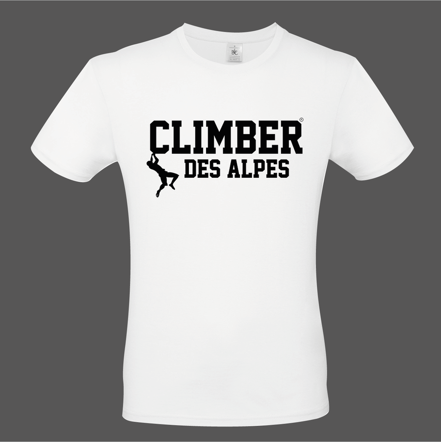 T-Shirt CLIMBER DES ALPES