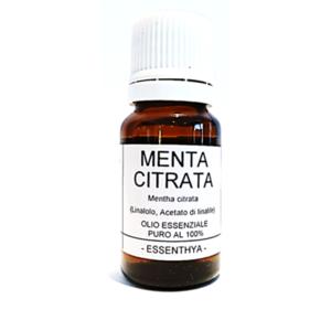 Essenthya - Menta citrata olio essenziale