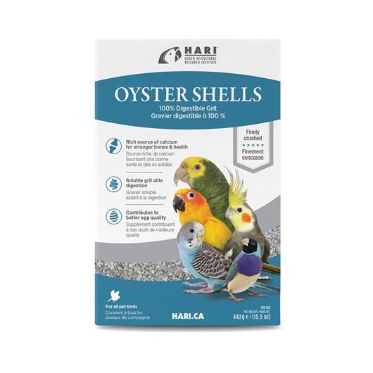 Gusci di Ostriche -  100% gusci di ostrica schiacciati