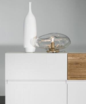 Lampada da Tavolo BOLLA di Nature Design in Vetro di Murano Soffiato - Offerta di Mondo Luce 24
