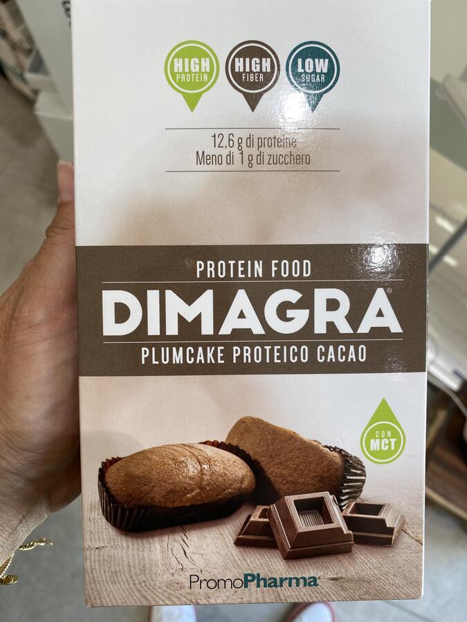 Plum cake iperproteici cacao