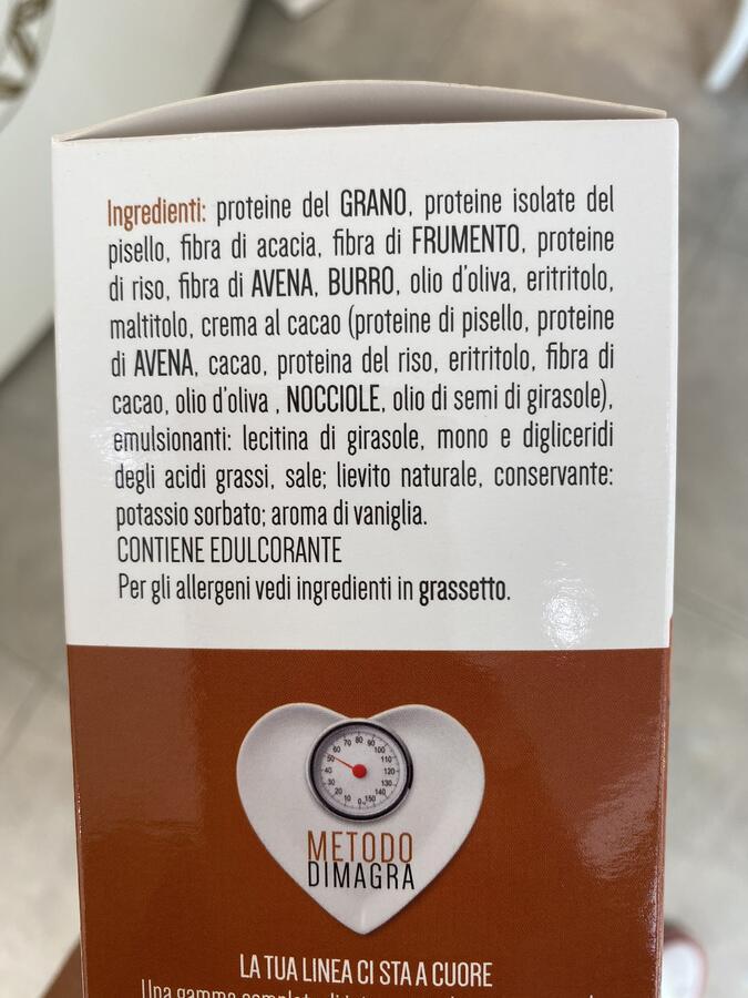 Brioches proteiche cacao