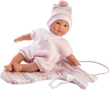 Bambola Cuquita, con occhi blu e corpo morbido - Llorens 30006 - 3+
