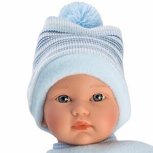 Bambola Cuquita, con occhi blu e corpo morbido - Llorens 30007 - 3+