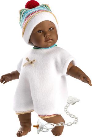 Bambola Cuquita, con occhi marroni e corpo morbido - Llorens 30008 - 3+