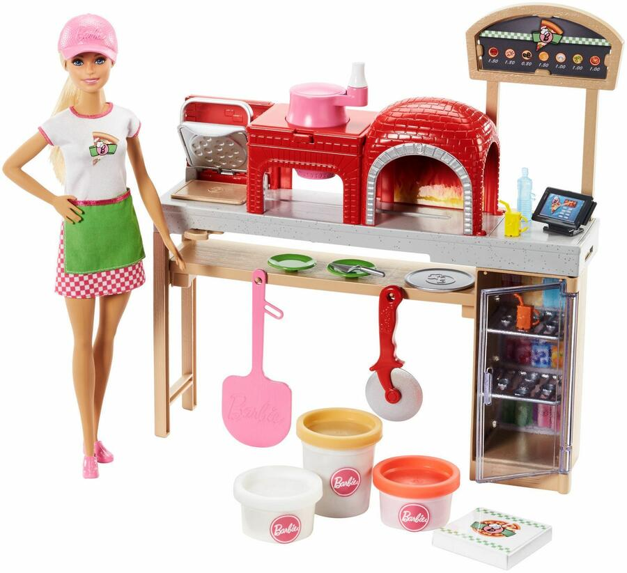 Barbie Pizzaiola con accessori - Mattel FHR09 - 3+