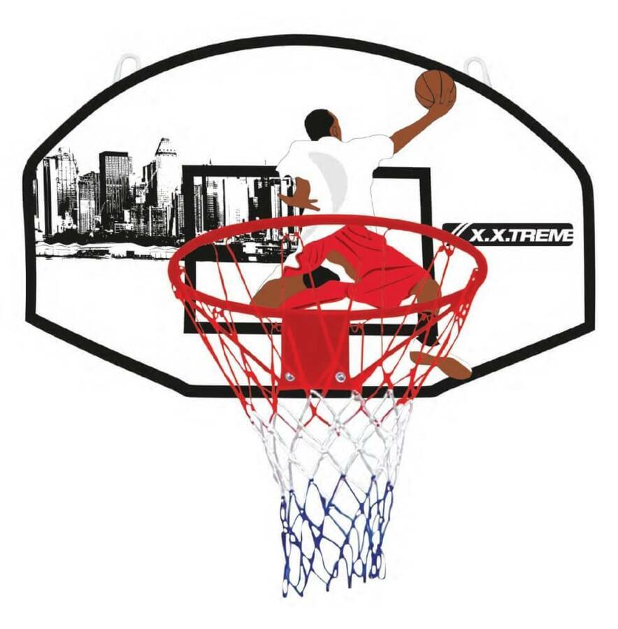 Canestro Basket 90 x 60 cm. - X.X.Treme - 73200261 - 3+ anni