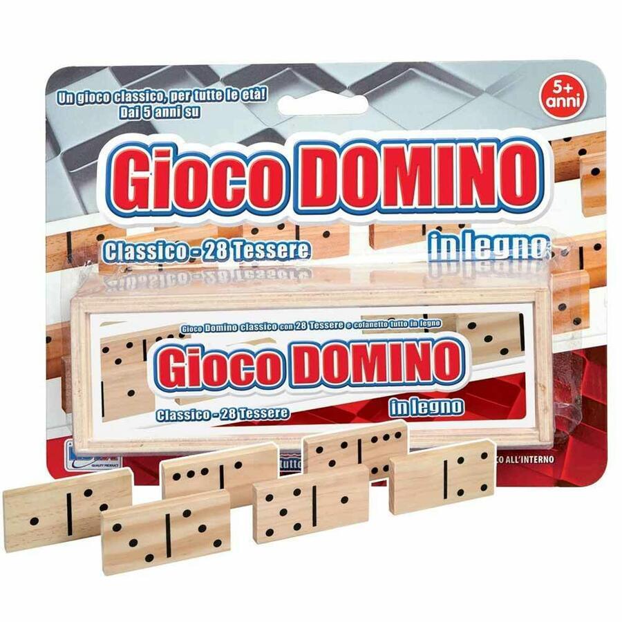 Domino Gioco in legno - Rsta 9650 - 5+ anni