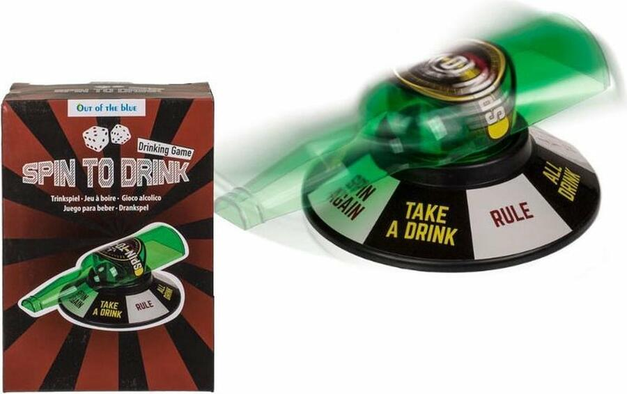 Gioco Alcolico - Spin to Drink - ootb 79/3923
