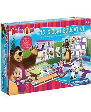 Masha e Orso - 15 giochi educativi - Clementoni 13347 - 4-6 anni
