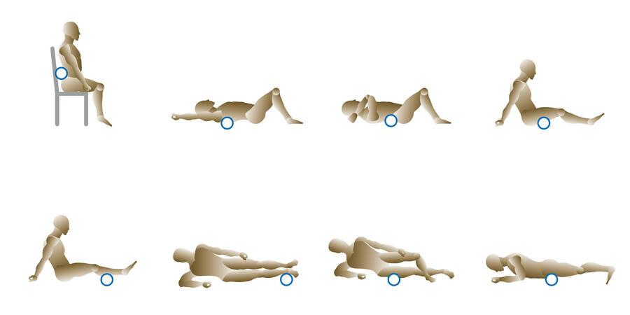 Rullo per auto massaggio - Rovera FM001