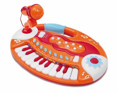 Tastiera Elettrica 18 Tasti Con Microfono - Bontempi BK 1825 - 3+ anni