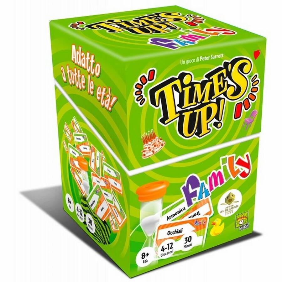 Time's Up Family Gioco da Tavolo - Asmodee - NI2019R15 - 8+ anni