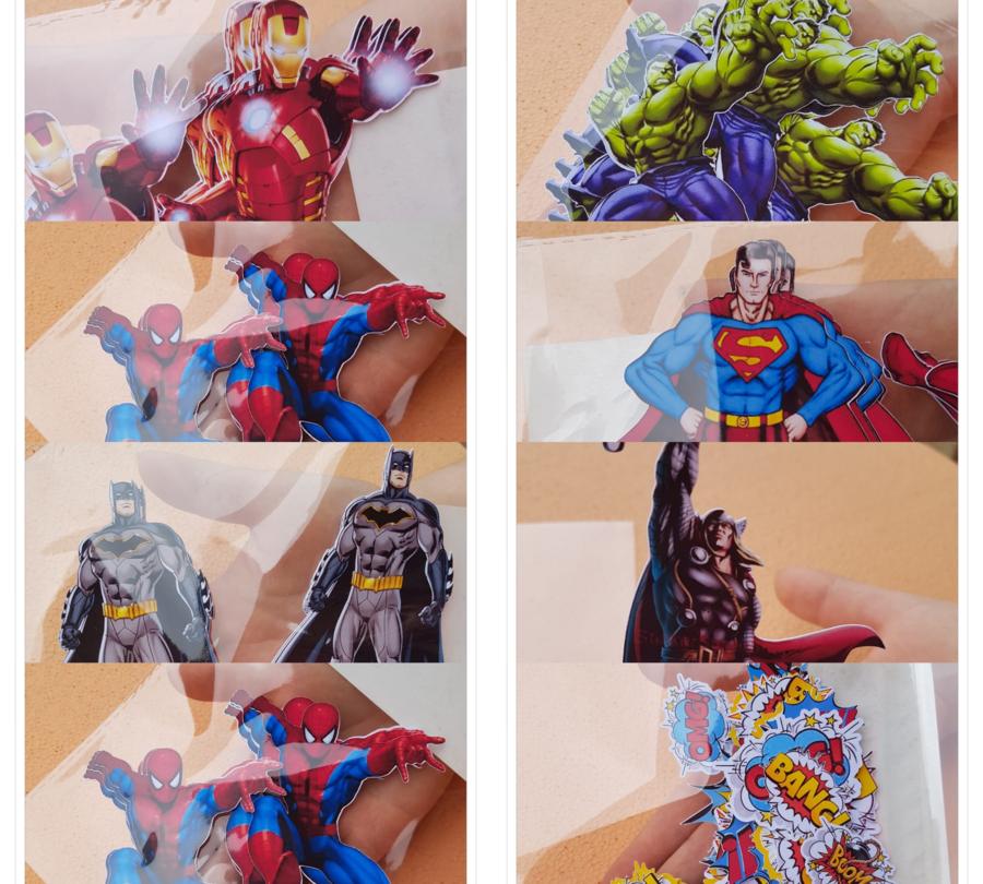 Topper personaggi cartoni animati a tema