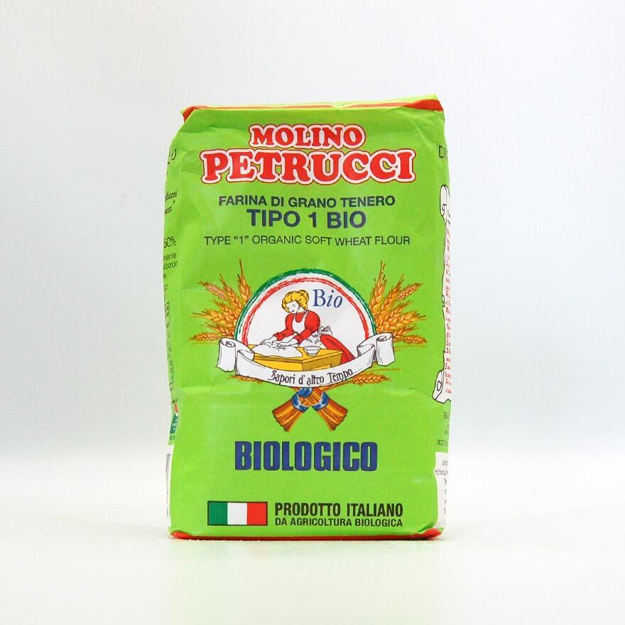 Farina di grano tenero tipo '1' da agricoltura biologica