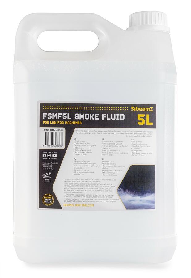 BeamZ -  FSMF5L SMOKEFLUID 5L LOW FOG